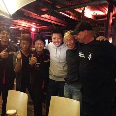Toshi Hayama, Smoky Nagata, Tarzan Yamada, Ian Baker, Under Suzuki